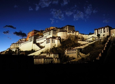 The Potala Palace is the world's highest palace, castle and monastery.