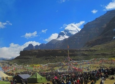 Mt Kailash Kora during Saga Dawa Festival