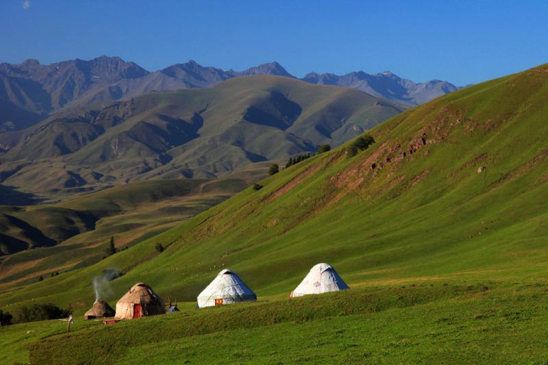 Ganden to Samye trekking route