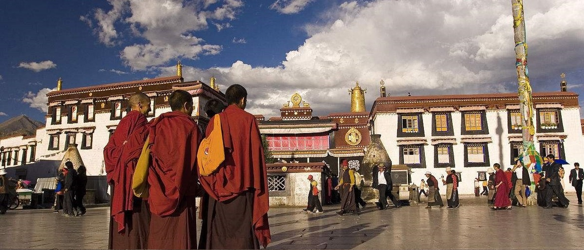 You will visit top monasteries in Lhasa city first.