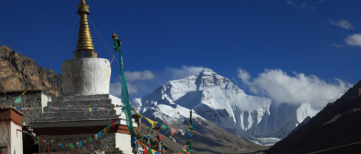 Mount Everest is the biggest highlight of this tour.