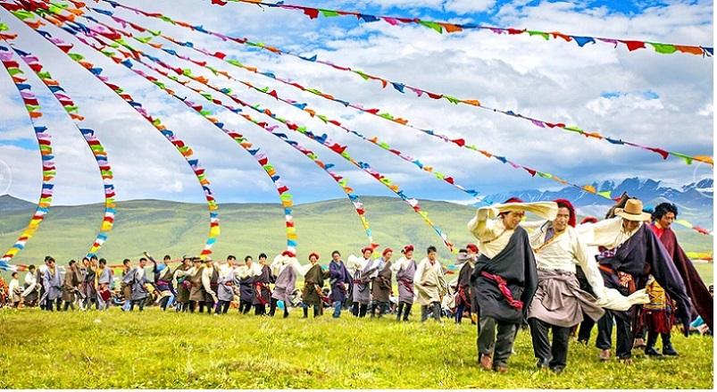 Tibet Guozhuang Dance