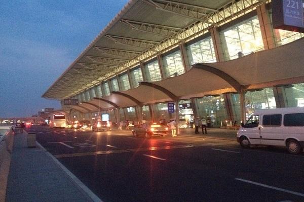 Xianyang International Airport in Xian.