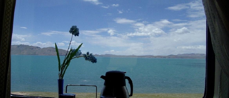 Cona Lake is a popular scenic site along Qinghai Tibet Railway.
