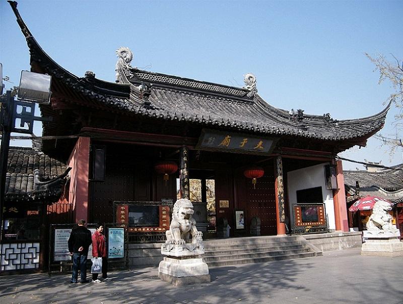 Confucius Temple in Nanjing.