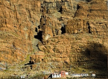 Qugu Monastery is a little monastery at the foot of Mt.Kailash.