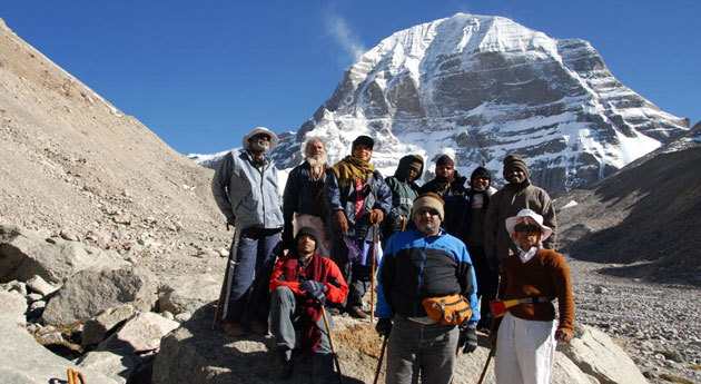 Mount Kailash is an important pilgrimage destination for Hinduist.