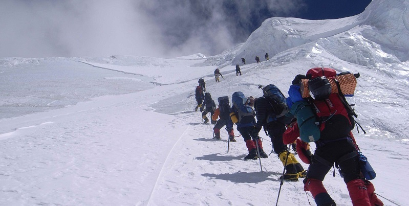Climbing Mount Everest is a lifelong dream for many people.