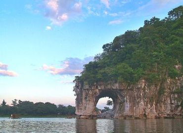 Fubo Hill is the symbol of Guilin scenery.