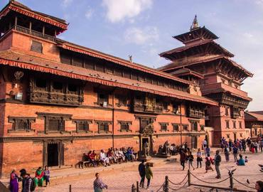 Patan Museum is one of the main attractions in Kathmandu.