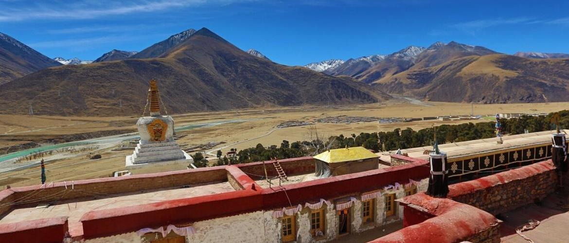 Reting Monastery was the first monastery of Kadam sect in Tibetan Buddhism.