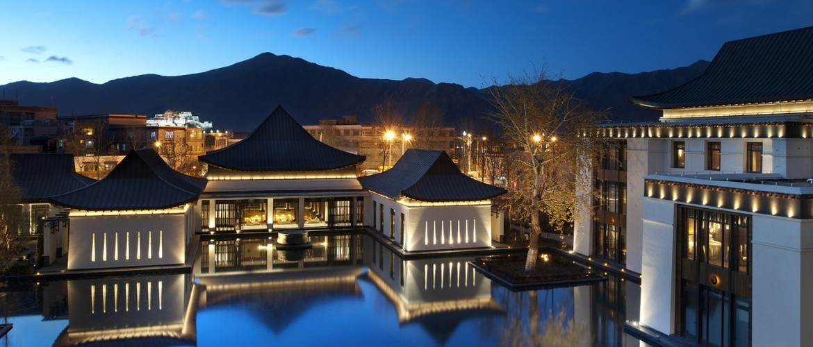 St. Regis Lhasa Resort is the highest Regis so far.
