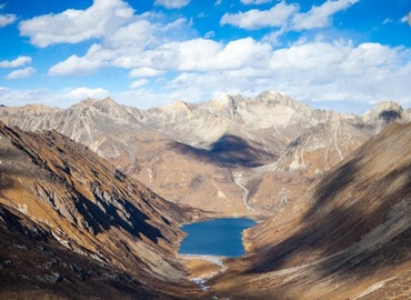 The most mysterious Tibetan lake Lhamo La-tso.