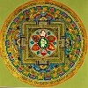 The Mandala describes the path of meditation that the practitioner should take in order to connect with God.
