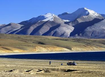 Rakshas situated in Purang County, Ngari, Tibet.