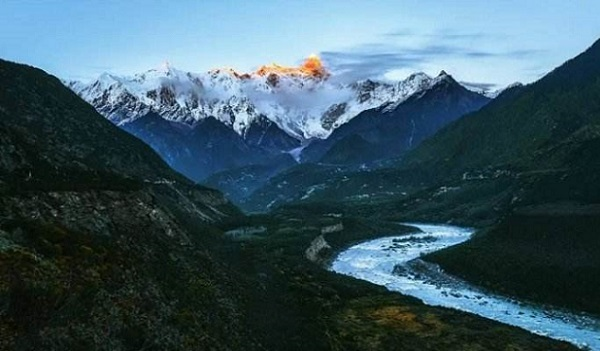 Yarlung Tsangpo Gorge is the deepest and largest canyon in the world.