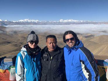 Far view of Himalayas.
