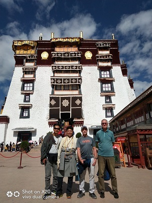 Great time in Tibet