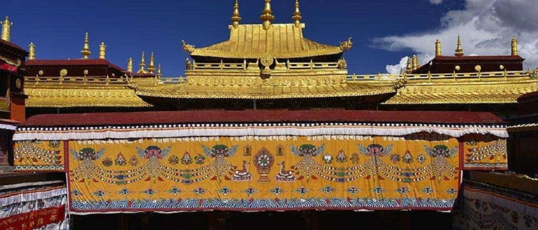 The world's Buddhist center - Jokhang Temple.