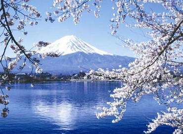 Fuji Mountain is the landmark scenic spot in Japan.