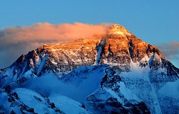 Golden sunrise of Mt.Everest!