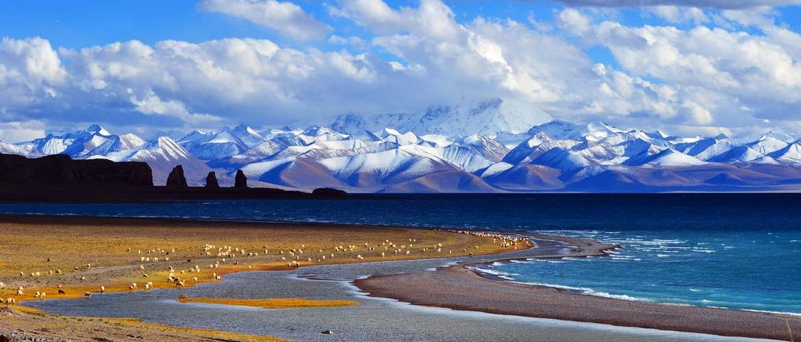 "Namtso lake is also being called ""heavenly lake""."