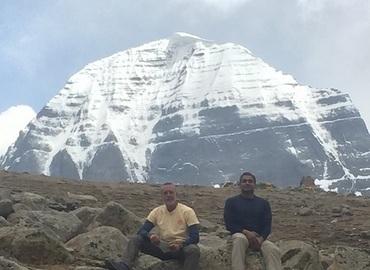 During the trekking trip.