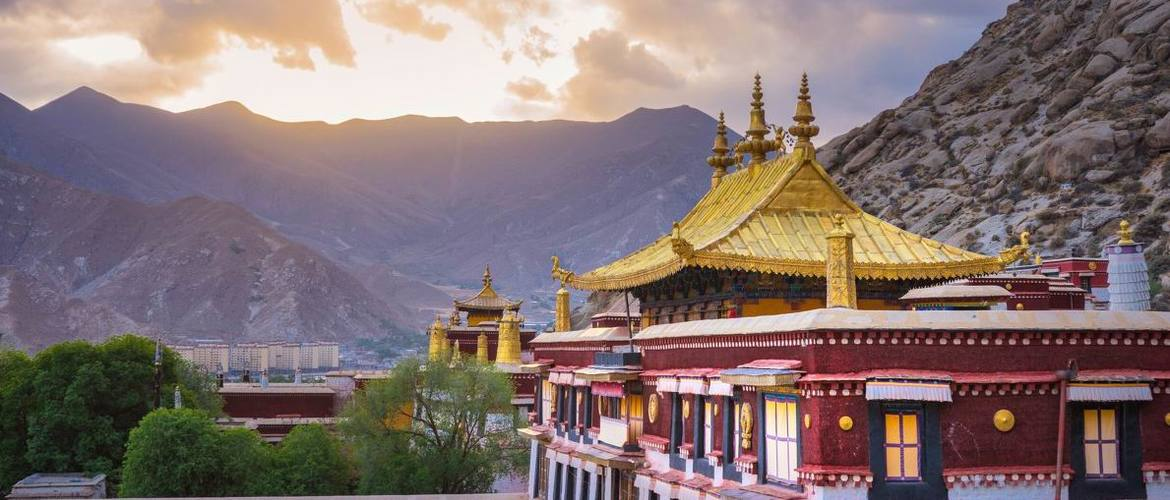 Sera Monastery is regarded as the most beautiful monastery in Lhasa.