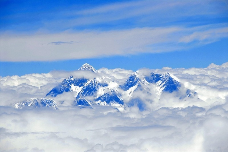 Have a bird-view of the Himalayas.