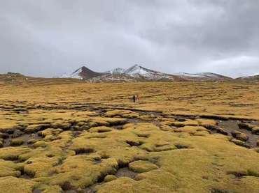 trek on the vast land.