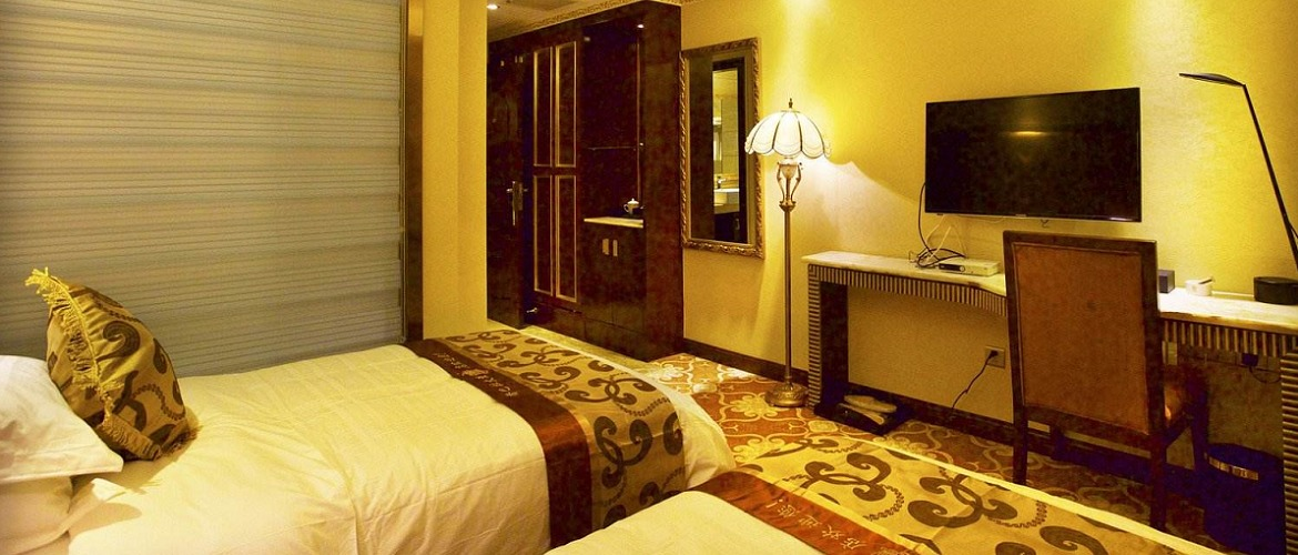 Double room in Shangbala hotel