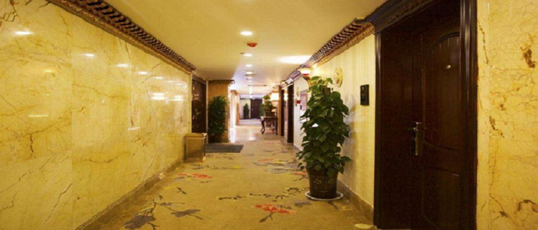 The corridor in Shangbala hotel