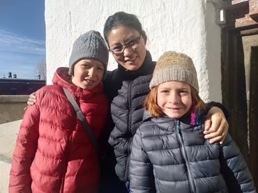 Family Tibet tour.