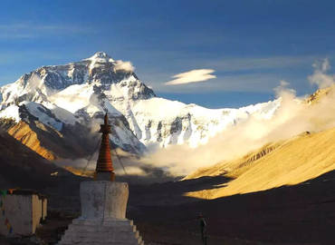 Best place to take a photo of Mt. Everest.