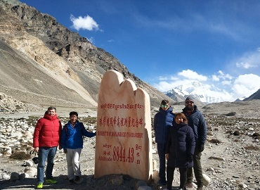 Lhasa to Everest Base Camp Group Tour