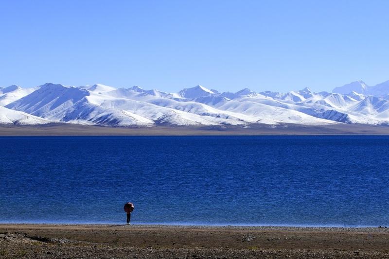 Stunning Lake Namtso.