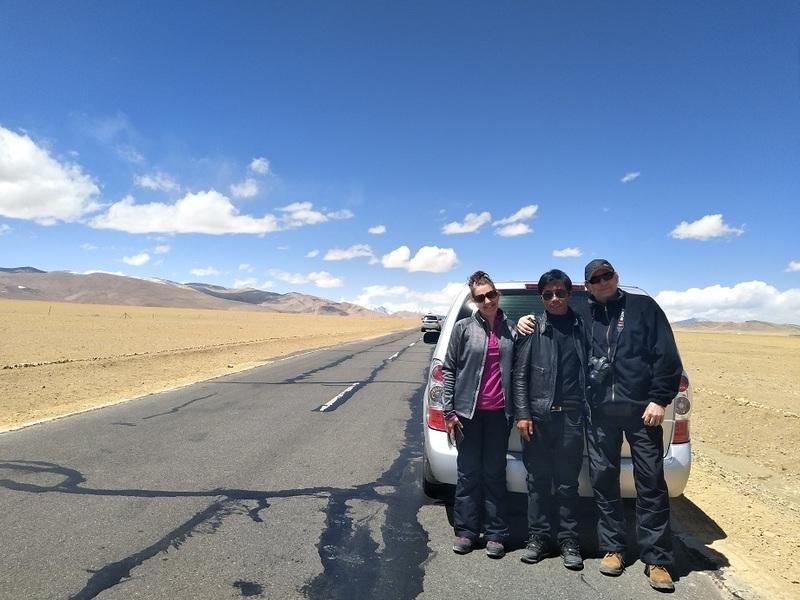 On Friendship Highway.