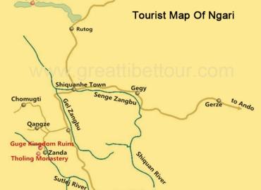 Ngari map