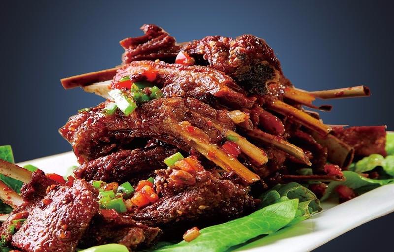 Roast mutton chops