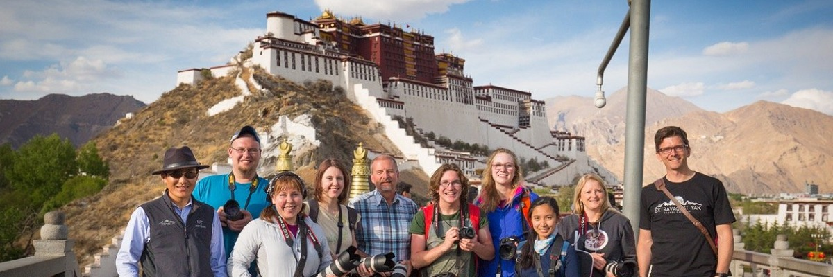students Tibet tour