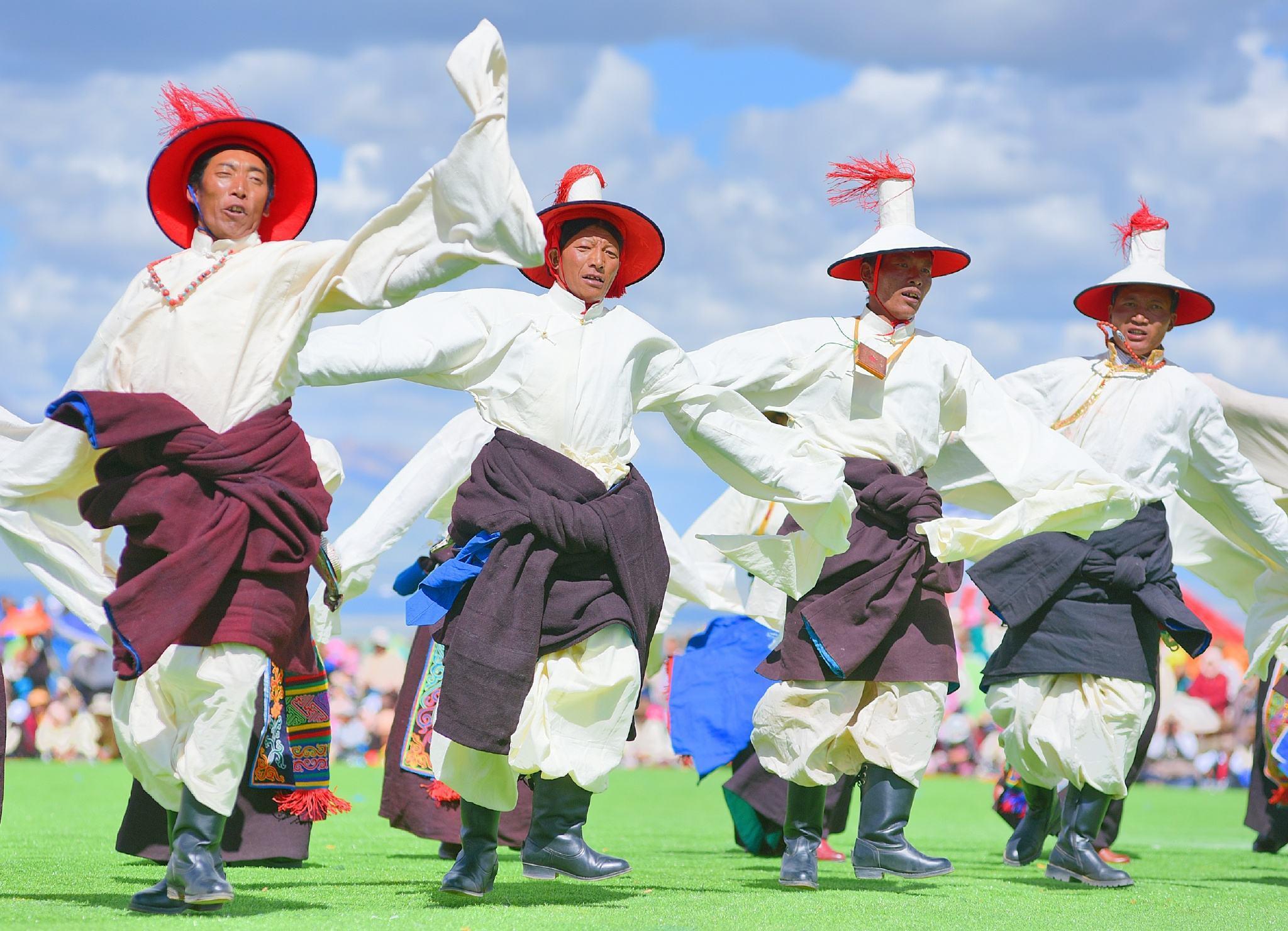 Tibet dance