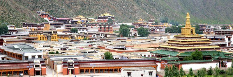 Labrang Monastery  in Amdo Tibet
