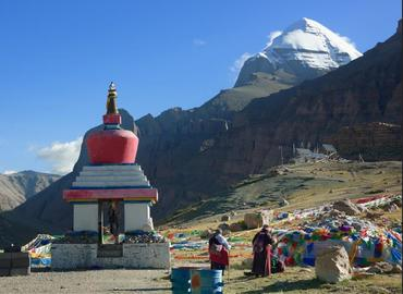 Mt.Kailash is the Precious Snow Mountain.