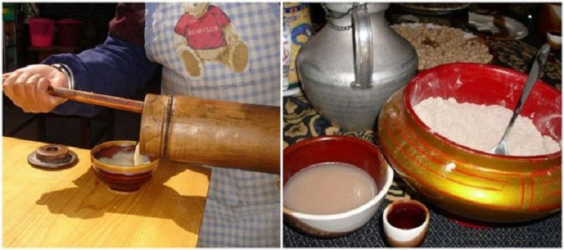 Prepare butter tea on your own