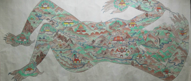 Rosa woman on Qinghai-Tibet Plateau