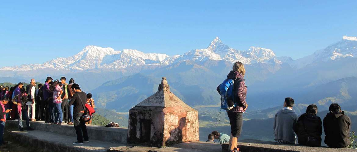 Sarangkot is also a good viewpoint to see the magnificent scenery of the Himalayas.