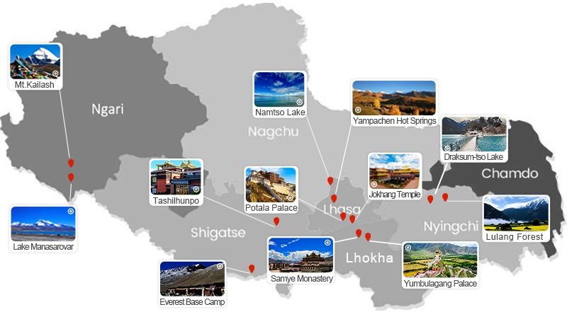 Top Tibet Attractions