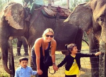 Get closer to elephants.