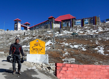 Nathu La pass is the open tradingborder posts between India and China