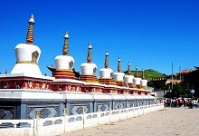 stupa burial